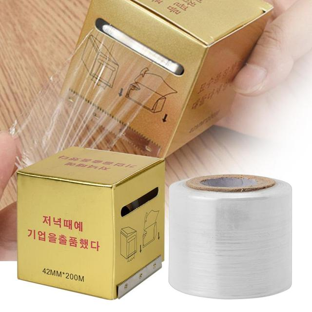 New 1 box Microblading Clear Plastic Wrap Tattoo Clear Wrap Cover Preservative Film Microblading Preservative Film for Permanent