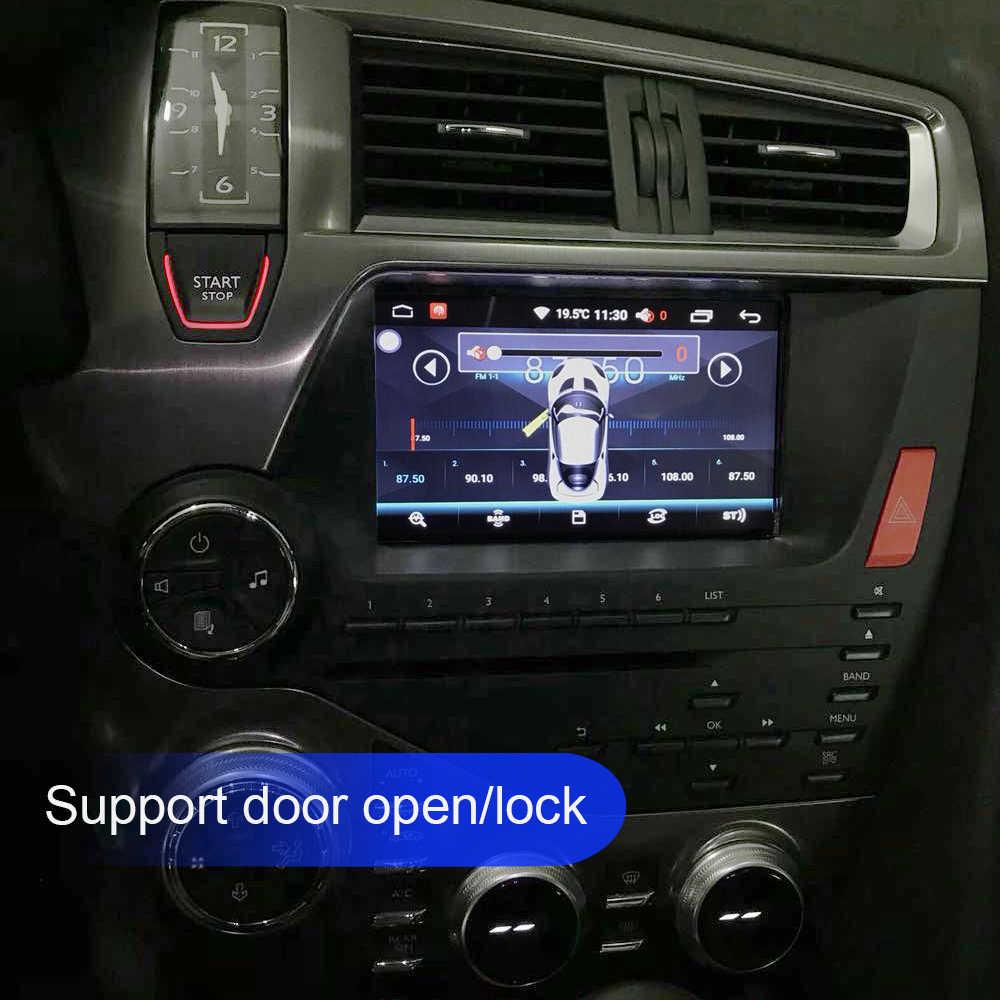 クアッドコアアンドロイド 10 1024*600 カー Dvd ステレオシトロエン DS5 オートラジオ Gps ナビゲーションオーディオビデオ wiFi