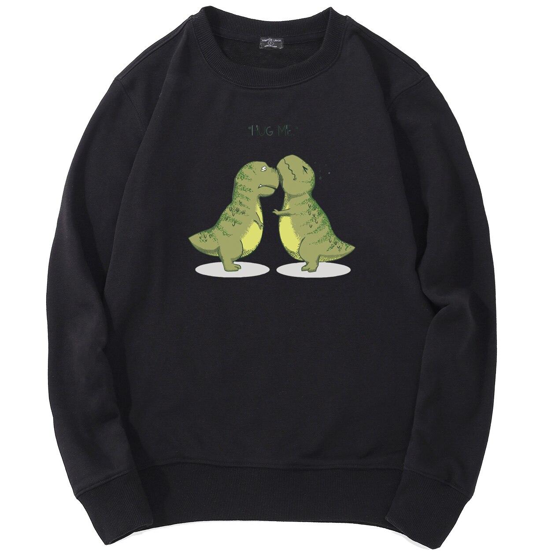 Dinosaur Animals Mens Raglan Sleeve Hoodie Cute Boys Raglan Hoodie