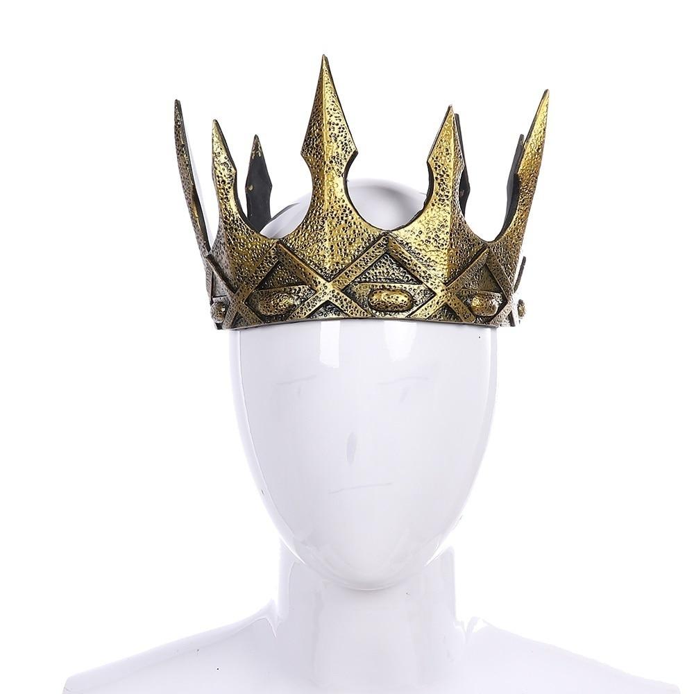 Карнавальные вечерние головные уборы Cospty, старинный головной убор из пенополиуретана, винтажный головной убор королевской короны в средневековом стиле Аксессуары для костюмов      АлиЭкспресс