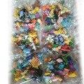 Мини фигурка Пикачу 2-3 см, игрушки для детей, 144 шт., Покемоны, карманные монстры, Капсульная игрушка, мини-модель Пикачу венузавра, Gfit