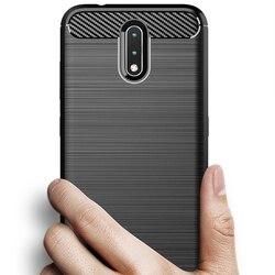 На Алиэкспресс купить чехол для смартфона for nokia 2.3 6.2 7.2 2.2 3.2 4.2 2 v carbon fiber cover phone case bumper case full protection phone cover shockproof bumper