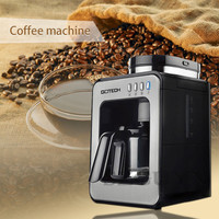 American drip coffee maker Household small grinding one coffee machine Fully automatic Grinding Freshly cooked Coffee machine