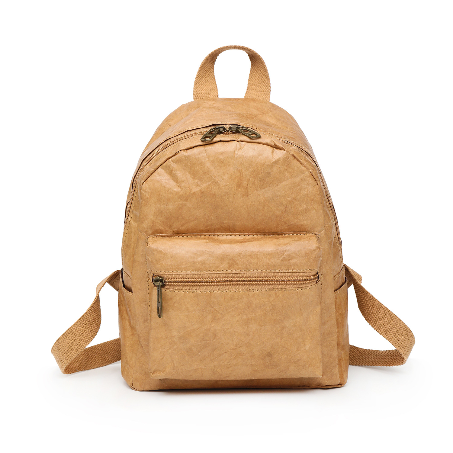 PUBGS Unisex Backpack 2019 NEW Kraft Paper Bag Foldable Decompressed Washable Tear-resistant Environmental-friendly Women & Male