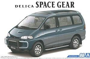 1/24 assemblée véhicule modèle PE8W Delica espace Gear 96 05667