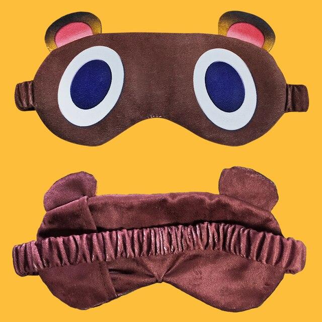 Masque de sommeil Tom Nook Animal Crossing