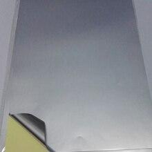 Высококачественный Специальный слой 50 микрон толщина A4 пустой Матовый Серебряный самоклеящаяся бумага для маркировки для струйного принтера