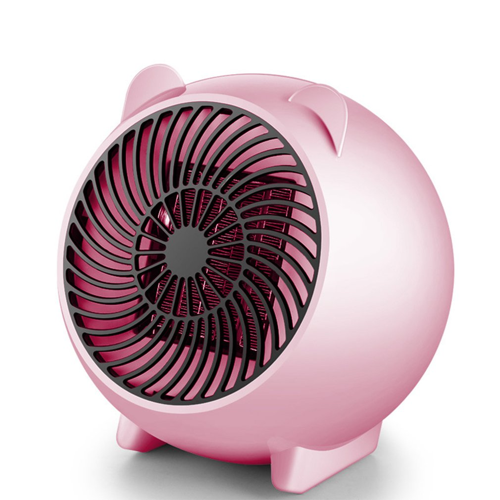 Portable Silent Electric Fan Heater Hot Thermostat For Home Baby Desktop