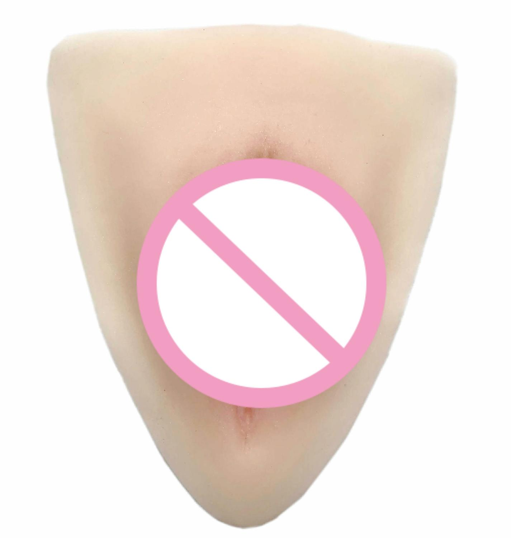 Can Inserts Fake Vagina Camel Toe Sexy Vagina Ajusen Cosplay Crossdresser Pad for Transgender Shemale