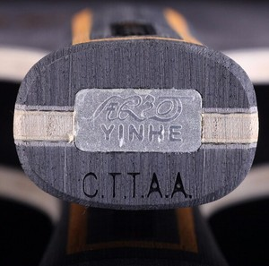 Image 5 - Yinhe Y13 Mercury.13, для настольного тенниса, из углеродного волокна, с петлей + лезвием для настольного тенниса, ракетки для пинг понга, для игры в пинг понг