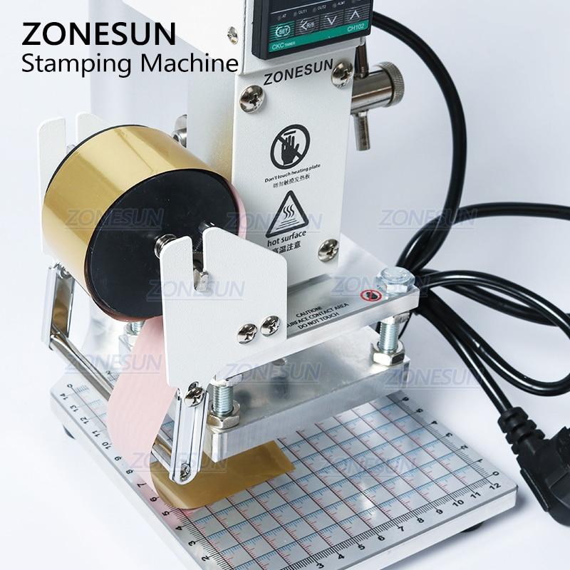 ZONESUN ZS90 Manuale digitale Libro di carte in PVC Carta di cuoio - Attrezzature per la lavorazione del legno - Fotografia 3