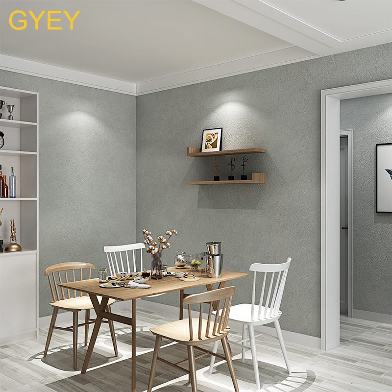 10M Nordic Cement Gray Wallpaper Pure Plain Industrial Wind Tea Shop Restaurant Bar Restaurant Clothing Store Wallpaper