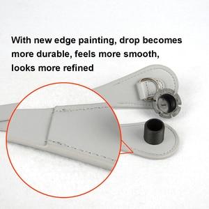 Image 4 - New 51cm 86cm Slim Handles Edge Painting D Buckle Teardrop End Faux Leather Handles for OBag Chain Pendant for EVA O Bag Body