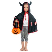 Halloween Smile Pumpkin Bag Non-woven Fabrics Party Supplies Bags Kids  Three-dimensional Candy