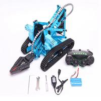 TongLi K1 DIY Metal RC Robot Arm High Quality Thickening Steel Materials Support To Move On Uneven Road Easy To Control