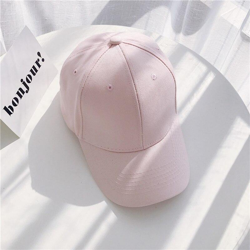 Women Baseball Cap Snapback Casquette Solid Color Men's Baseball Cap Outdoor Sun Hats Summer gorras hombre Adjustable Caps 2020 (24)