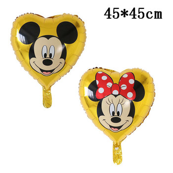Giant Mickey Minnie Mouse Balloons Disney cartoon Foil Balloon Baby Shower Birthday Party Decorations Kids Classic Toys Gifts 33