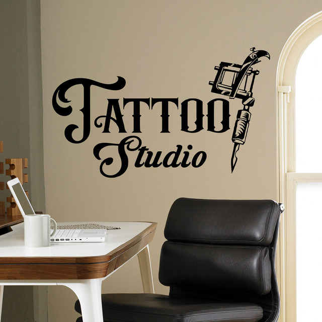 Tattoo Studio Wall Sticker