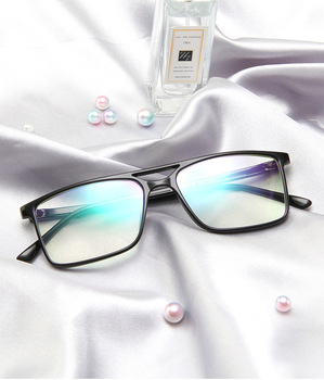 2021 New Anti Blue Light Men Classic Square Eyeglasses Frame Brand Designer Fashion Women Decoration Optical Glasses males image