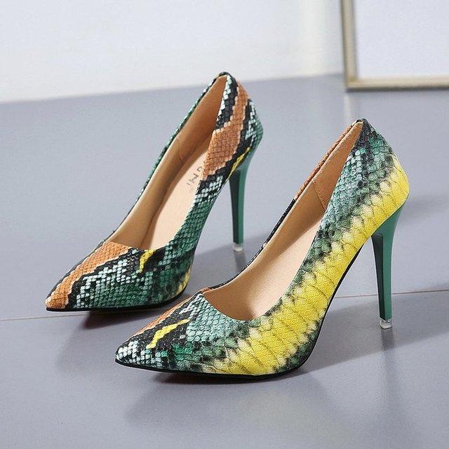 2019 woman Pumps Women Sandals High Heels Pumps Casual Slip-on Shoes Plus Size 35 -42  zapatos de mujer