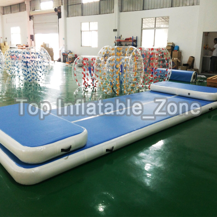 3x1m Newest Sport Portable Inflatable air track Tumble Track, inflatable airtrack gym equipment high jump mat for sale