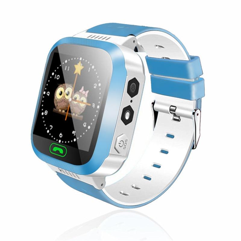 Детские часы с удаленной камеры сим звонки для детей подарок Наручные часы LBS позиционирования сети 2G