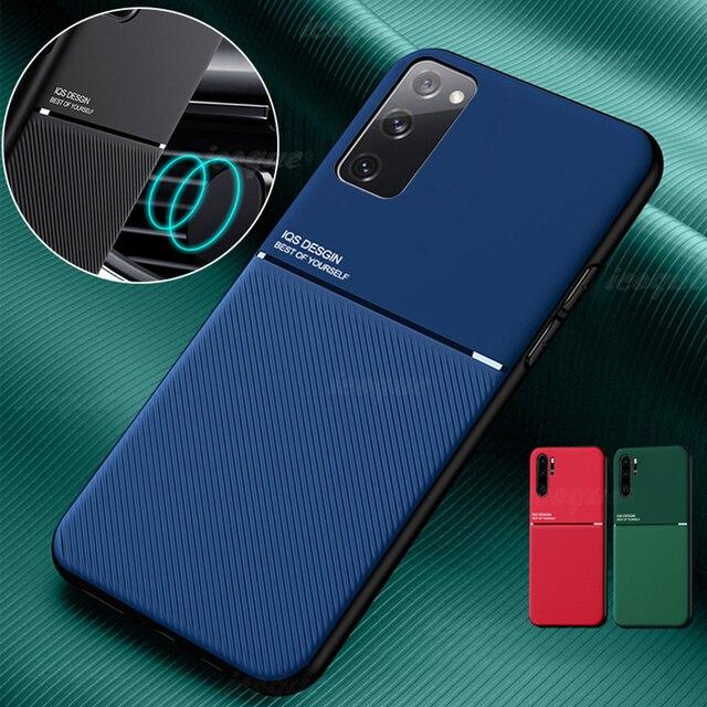 Support De Voiture magnétique pour Samsung Galaxy A52 5g A72 M31s A12 A31 A32 A51 A71 S20 Fe S10 S21 Plus Note 20 Ultra M51 Housse