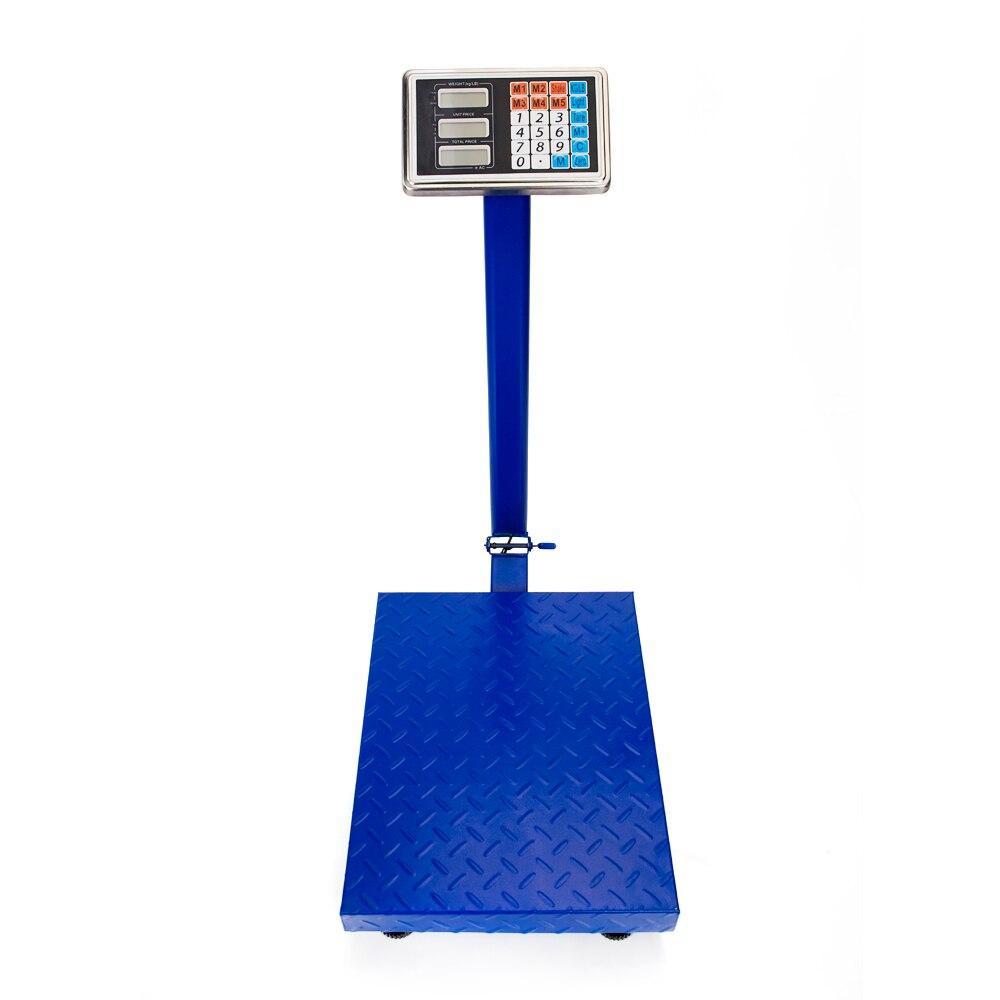 Balance de plate-forme postale de plancher personnel numérique d'affichage à cristaux liquides de 300 KG/661lb pour l'échelle de cuisine outils à la maison livraison gratuite