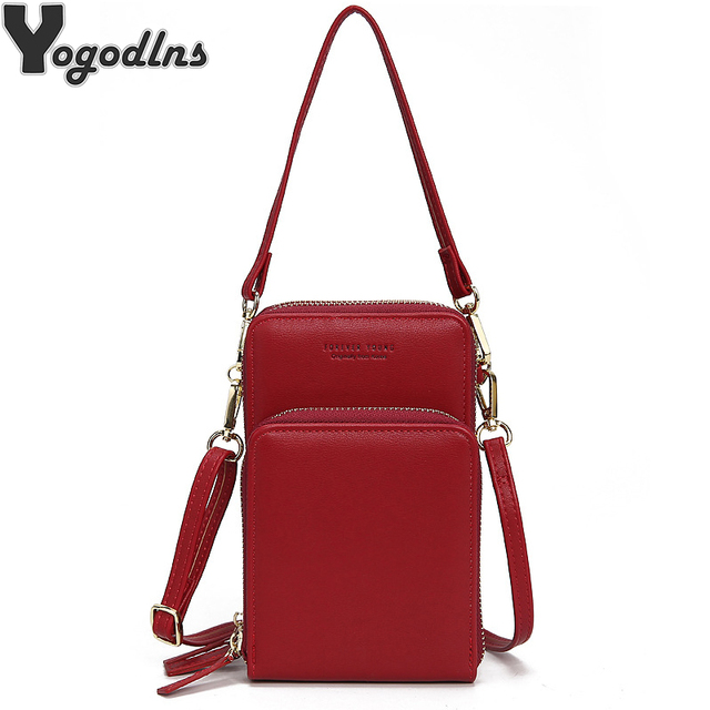 Crossbody Cell Phone Shoulder Bag Arrival Cellphone Bag Fashion Daily Use Card Holder Mini Summer Shoulder Bag for Women Wallet 1