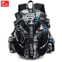 купить Men Women Travel Laptop Backpack School Travel Luggage Rucksack Sports Camping Climbing Bag Computer Student Backpack Male дешево