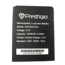 2pcs NEW Original 2500mAh psp7530 battery for Prestigio Muze D3 E3 F3 A7 High Quality Battery+Tracking Number original and sbc81203 rev a7 rc high quality
