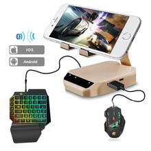 PUBG converter Mobile Gamepad G1/Mix Mobile Gamepad Keyboard Mouse Converter Adapter Dock For Android IOS Mobile Game For PUBG