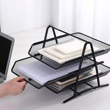 Office A4 Paper Organizer Document File Letter Book Brochure Filling Tray Rack Shelf