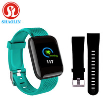 Color Screen Smart Watch USB Smart Bracelet Sport Pedometer Watch Fitness Running Walking Tracker Heart Rate Pedometer SmartBand