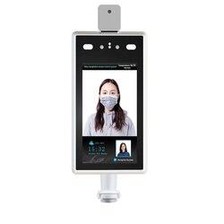 Indicateur de température de reconnaissance de visage de caméra de contrôle d'accès avertissement de thermomètre corporel sans Contact pour l'entrée et la sortie