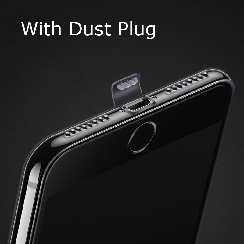 Ultra Thin TPU Case for iPhone 6 6s 7 8 Plus X XS Max XR 11 Pro Soft Phone Back Cover with Dust Plug iPhone7 8Plus XSMax ProMax(China)