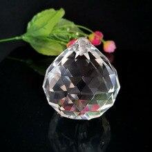 Ornament Crystal-Prism Suncatcher Pendant Chandelier-Parts Garlands Faceted-Ball Hanging