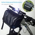 Велосипедная Передняя сумка с водонепроницаемым чехлом  безопасная велосипедная сумка  Большая вместительная велосипедная корзина  мужск...