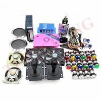 Original Pandora Box 6 1300 Games Set DIY Arcade Kit Push Buttons Joysticks Arcade Machine Bundle Home Cabinet with manual 5.0