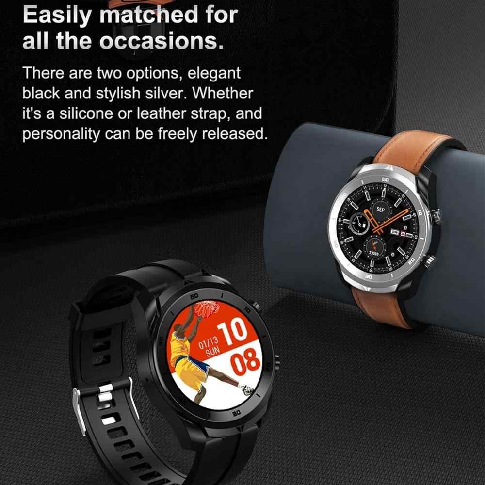 LEMFO-reloj inteligente deportivo para hombre, dispositivo con control de llamadas, ECG y PPG, Batería grande de 360 mAh y Bluetooth de 360x560 para Android IOS