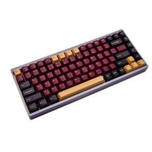 Image 3 - G MKY 160 Olivia Keycaps cerise profil DOUBLE coup épais PBT Keycaps pour MX Switch clavier mécanique
