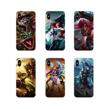 Cute Skin League of Legends lol art Silicone Skin Case For Samsung Galaxy J1 J2 J3 J4 J5 J6 J7 J8 Plus 2018 Prime 2015 2016 2017(China)