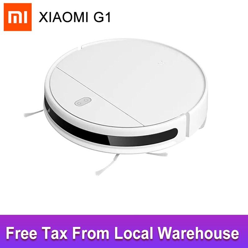Робот-пылесос XIAOMI MIJIA G1 2 в 1, 2200 па, Wi-Fi