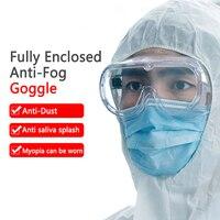 1pc óculos de proteção de segurança à prova de poeira de vento resistente ao impacto para pesquisa química ciclismo equitação soldagem