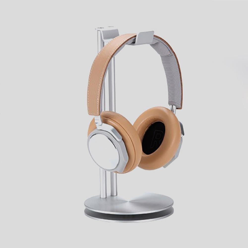 Écouteurs universels en alliage d'aluminium support de casque support support présentoir organisateur