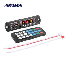 AIYIMA Bluetooth MP3 Decoder Scheda Audio a Mani Libere Chiamate FAI DA TE Amplificatore Sound Speaker USB TF di FM AUX Registrazione di Decodifica DC12V(China)