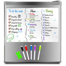 Виниловая Магнитная белая доска для холодильника школы Офисная