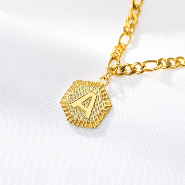 A-Z Initial Letter Anklet For Women Stainless Steel Anklets 21cm + 10cm Extender Gold Chain Alphabet Foot Accessories Jewelry 5