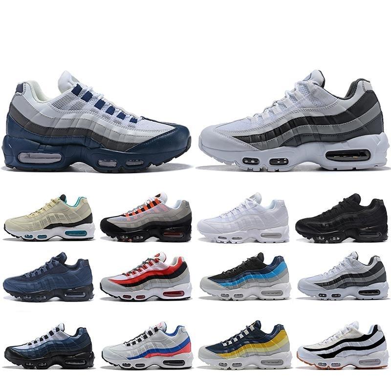 Laser Fuchsia Mens Trainers Air Neon Shoes Men Women OG Ultra 20th Anniversary 95 Triple White Black Sports Designer 97 Sneakers