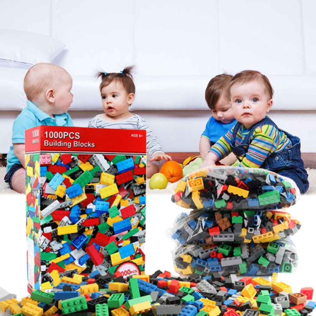 Diy Building Blocks Bulk Sets City Creative Classic Technic Bricks Creator Toys For Children Christmas Gift